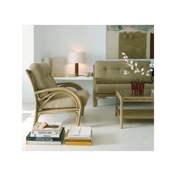 canap 2 places en rotin maison lehodey. Black Bedroom Furniture Sets. Home Design Ideas