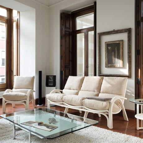 canap 3 places en rotin maison lehodey. Black Bedroom Furniture Sets. Home Design Ideas