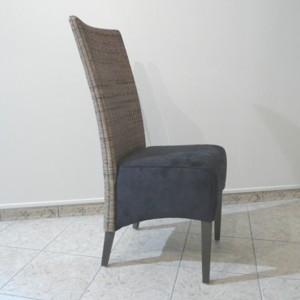 Chaise rotin tress maison lehodey for Chaise rotin tresse