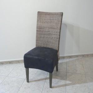 Chaise en rotin loom rotin tress ou abaca maison lehodey for Chaise rotin tresse