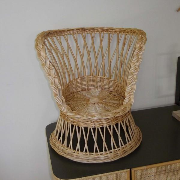 fauteuil enfant osier maison lehodey. Black Bedroom Furniture Sets. Home Design Ideas