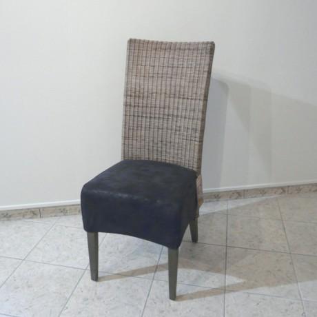 Chaise rotin tressé